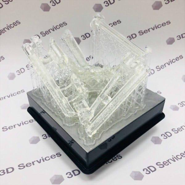Фото 3D печати предоперационных моделей