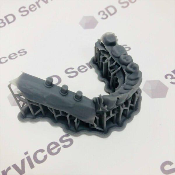 Фото 3D печати диагностической модели