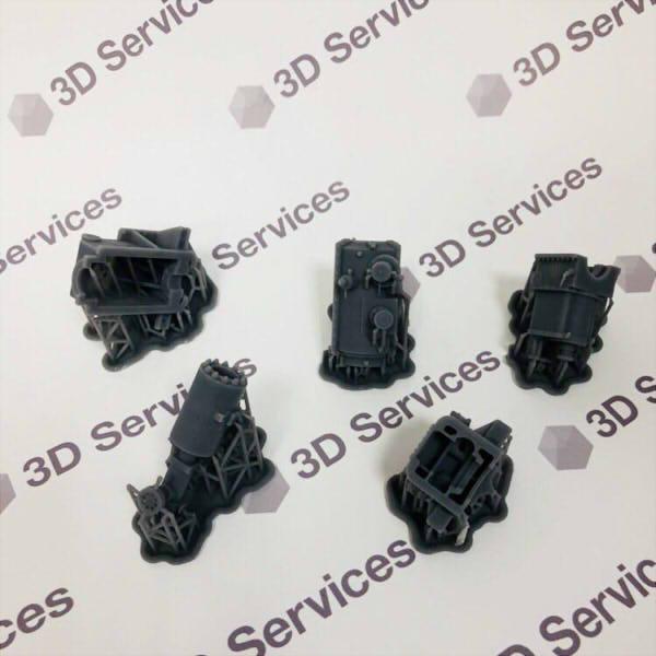 Фото 3D печати запасных частей