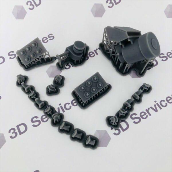 Фото 3D печати элементов аппарата