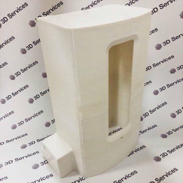 Фото 3D печати большого корпуса