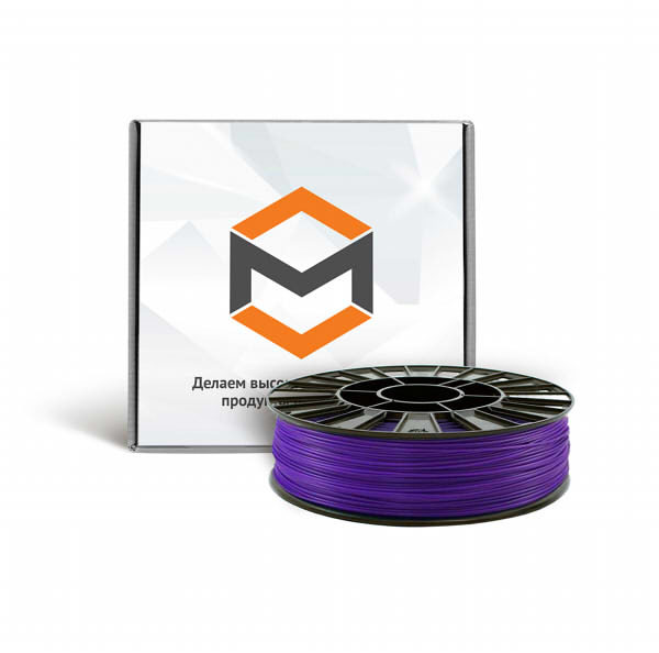 Фото PLA пластика 3DMall 1,75 мм фиолетовый