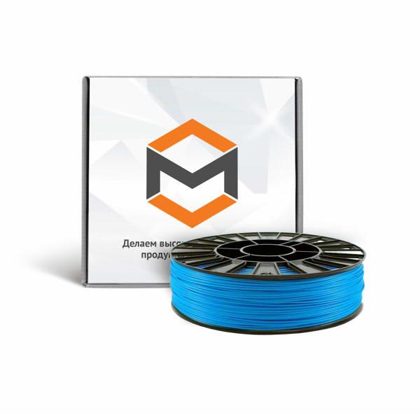 Фото PLA пластика 3DMall 1,75 мм голубой