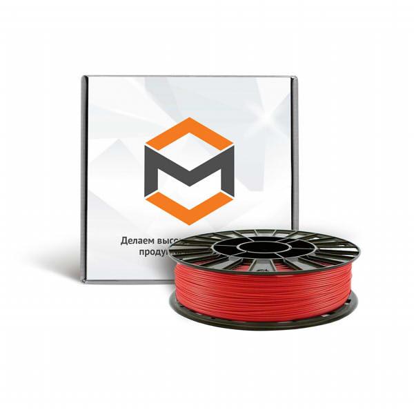 Фото PLA пластика 3DMall 1,75 мм красный