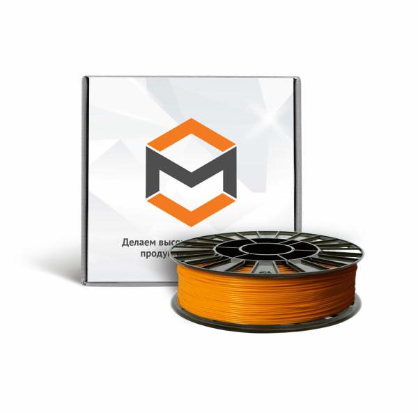 Фото PLA пластика 3DMall 1,75 мм оранжевый