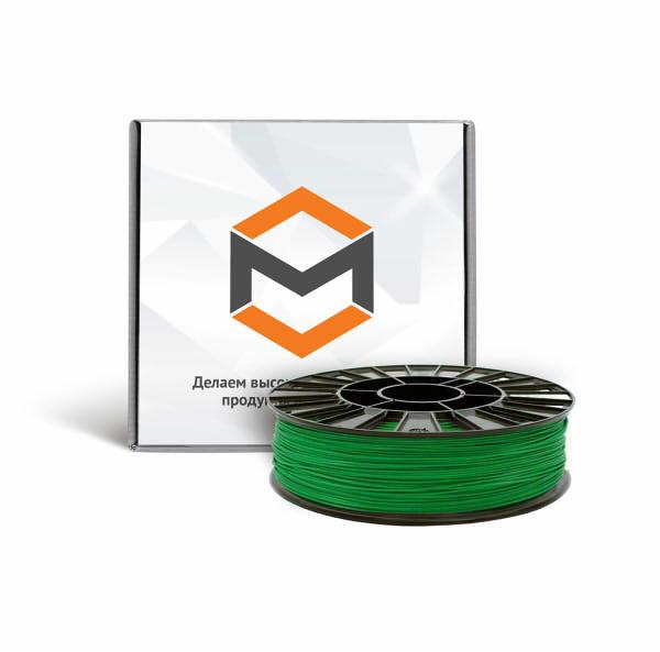 Фото PLA пластика 3DMall 1,75 мм зеленый
