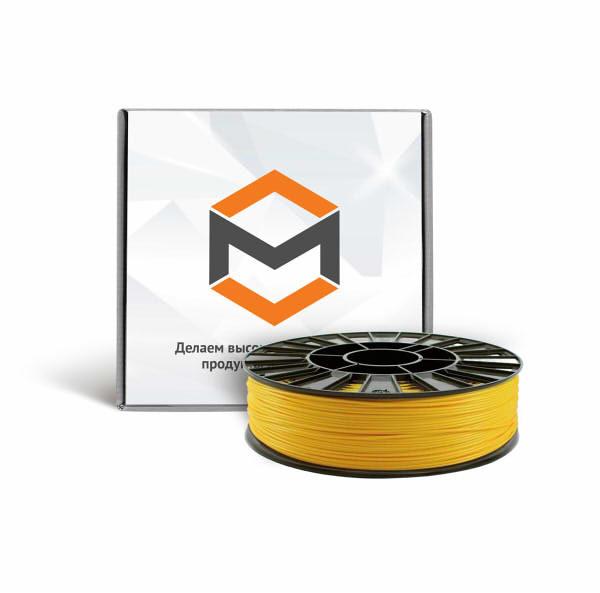 Фото PLA пластика 3DMall 1,75 мм желтый