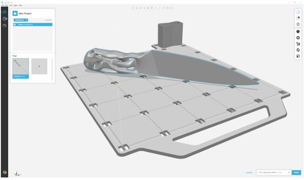 Фото 3D печать и производство ножей 3