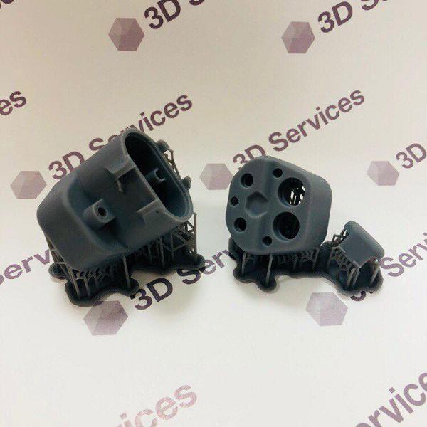 Фото 3D печати деталей маленького корпуса