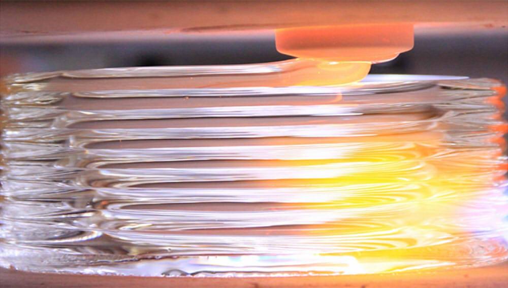 Баннер 3D печать стеклом 1