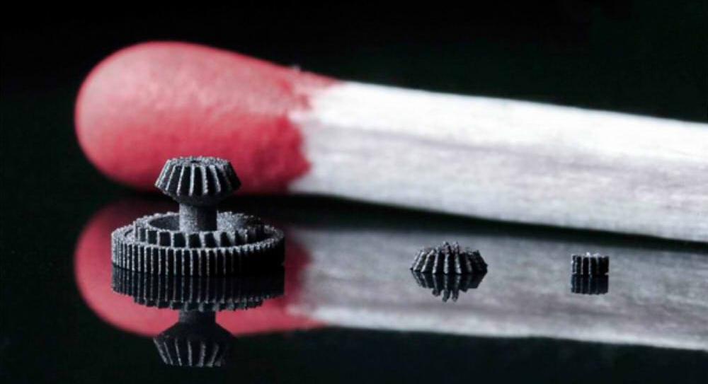 Баннер MLS технология или 3D печать микроизделий металлами