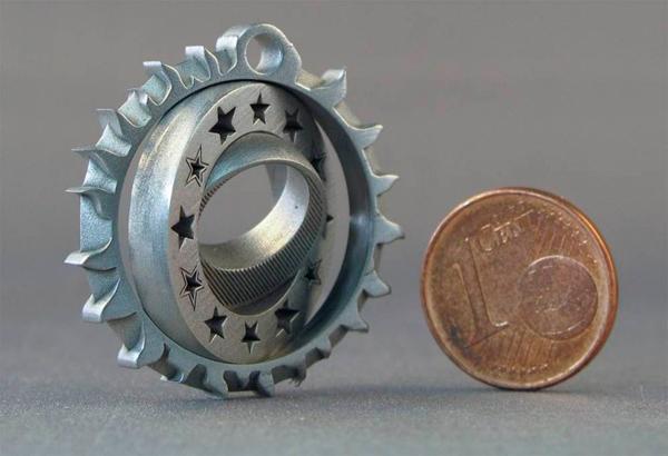 Фото MLS технология или 3D печать микроизделий металлами 4