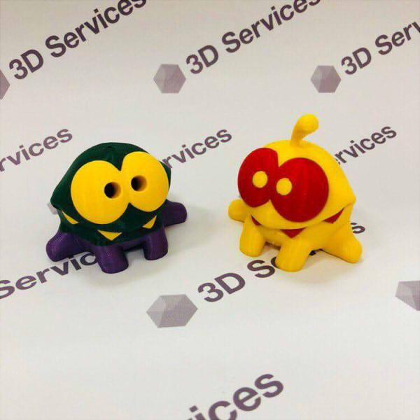 Фото 3D печати игрушек