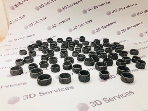 Фото 3D печать колец из титана