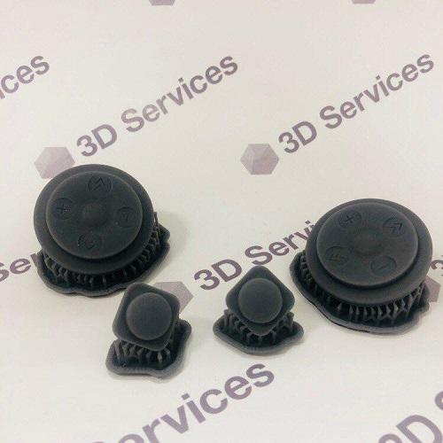 Фото 3D печать кнопок для пульта
