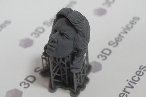 Фото 3D печать мастер моделей головы