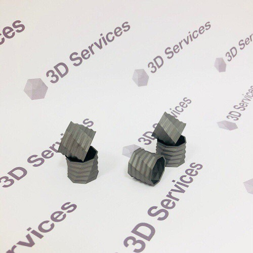 Фото 3D печать ювелирных изделий из титана