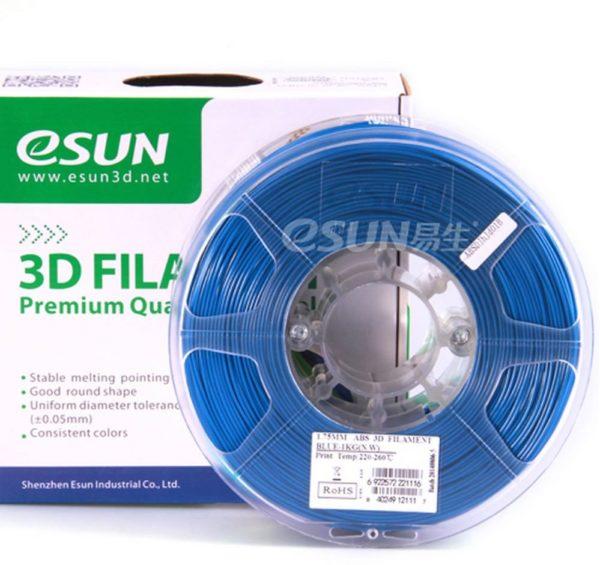 Фото нити для 3D принтера eSUN 3D FILAMENT PLA BLUE 1.75 мм