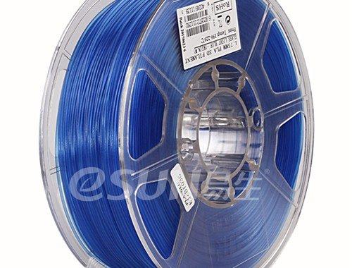 Фото нити для 3D принтера eSUN 3D FILAMENT PLA Glass Light Blue 1.75 мм 3