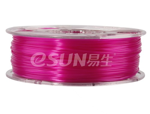 Фото нити для 3D принтера eSUN 3D FILAMENT PLA Glass Purple 1.75 мм 3