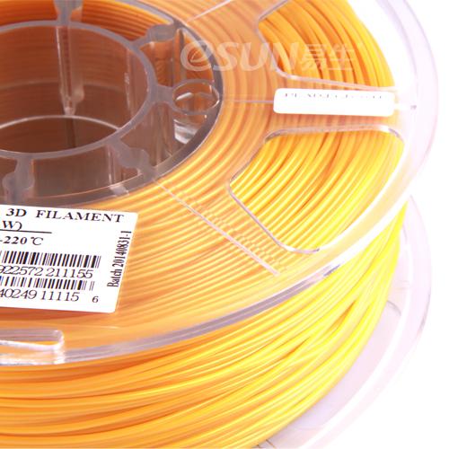 Фото нити для 3D принтера eSUN 3D FILAMENT PLA GOLD 1.75 мм 2