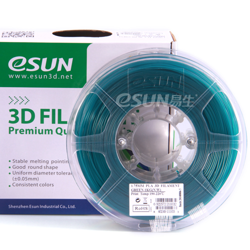 Фото нити для 3D принтера eSUN 3D FILAMENT PLA LIGHT BLUE 1.75 мм 1