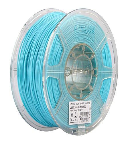 Фото нити для 3D принтера eSUN 3D FILAMENT PLA LIGHT BLUE 1.75 мм 2