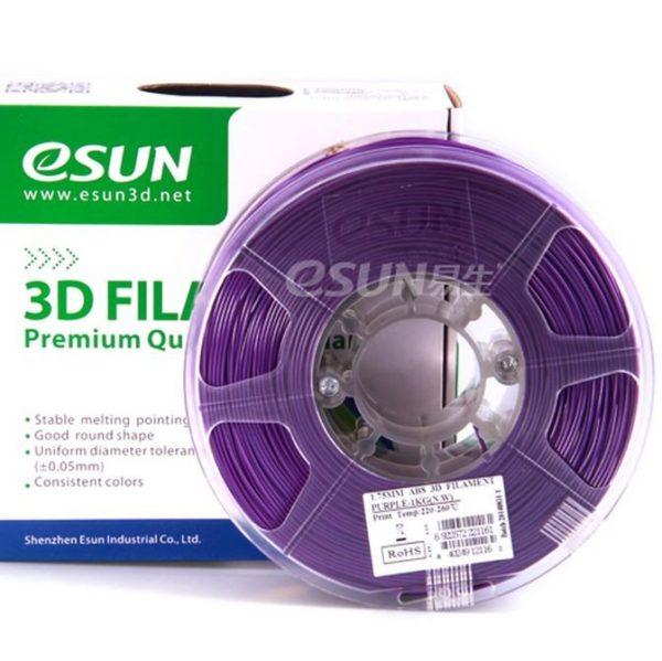 Фото нити для 3D принтера eSUN 3D FILAMENT PLA PURPLE 1.75 мм 1
