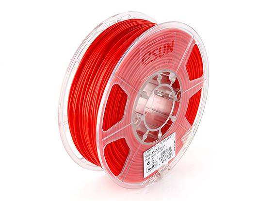 Фото нити для 3D принтера eSUN 3D FILAMENT PLA RED 1.75 мм 2