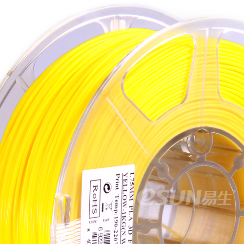 Фото нити для 3D принтера eSUN 3D FILAMENT PLA YELLOW 1.75 мм 2