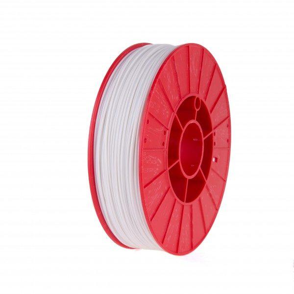 Фото нити для 3D принтера FLEX HARD пластик PrintProduct белый