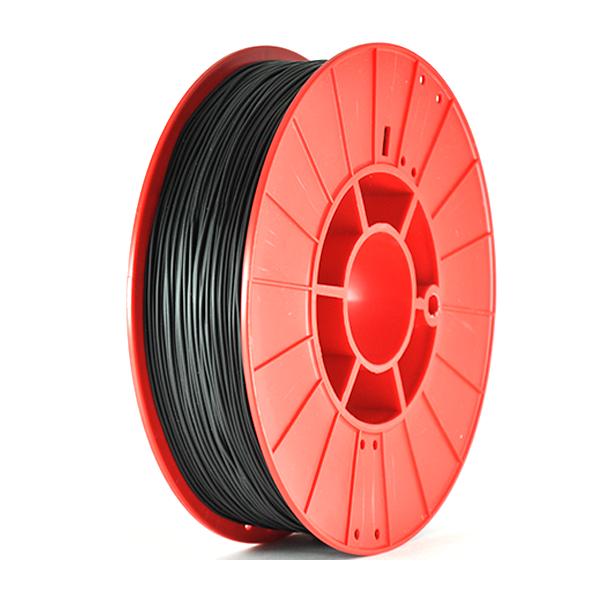 Фото нити для 3D принтера FLEX HARD пластик PrintProduct черный