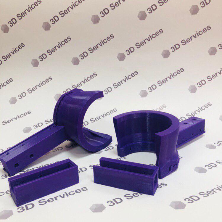 Фото Печать крепежей из ABS пластика