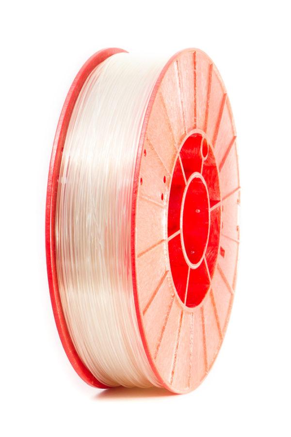 Фото нити для 3D принтера PET-Gun пластик PrintProduct прозрачный