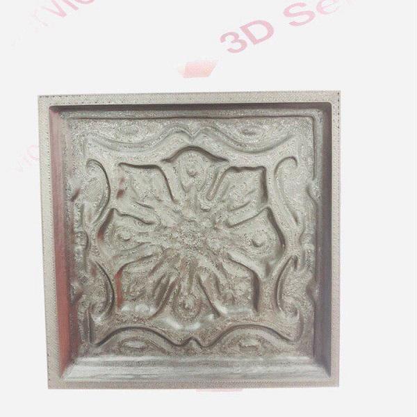 Фото Печать формы под плитку из пластика