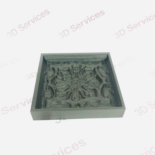 Фото Печать формы под плитку из пластика 1