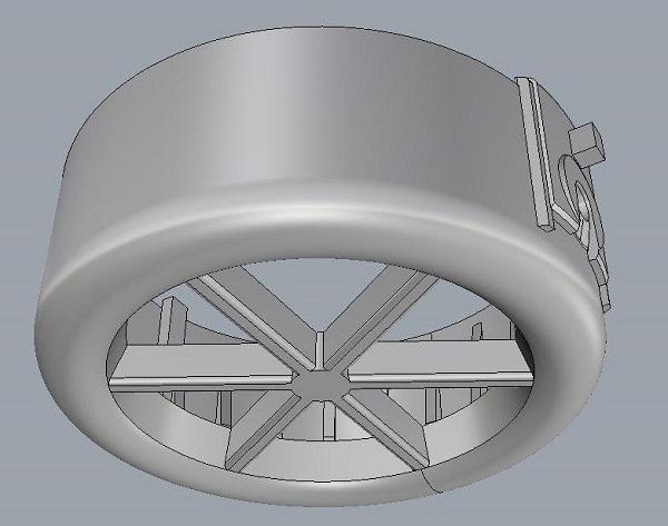 Фото Сканирование насадки на турбину 1