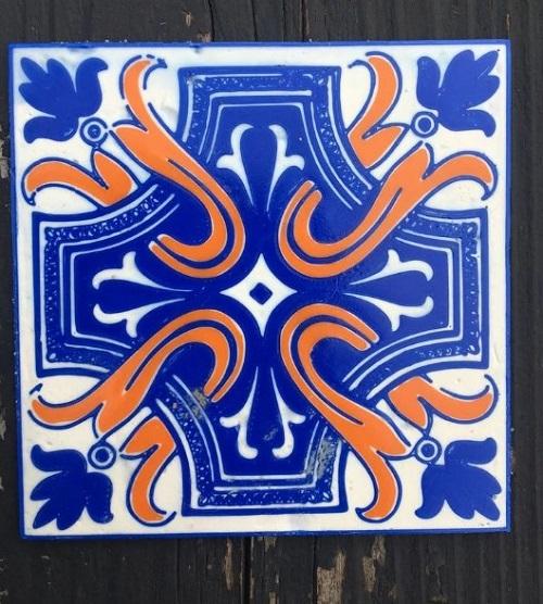 Фото аналог португальской плитки Azulej 4