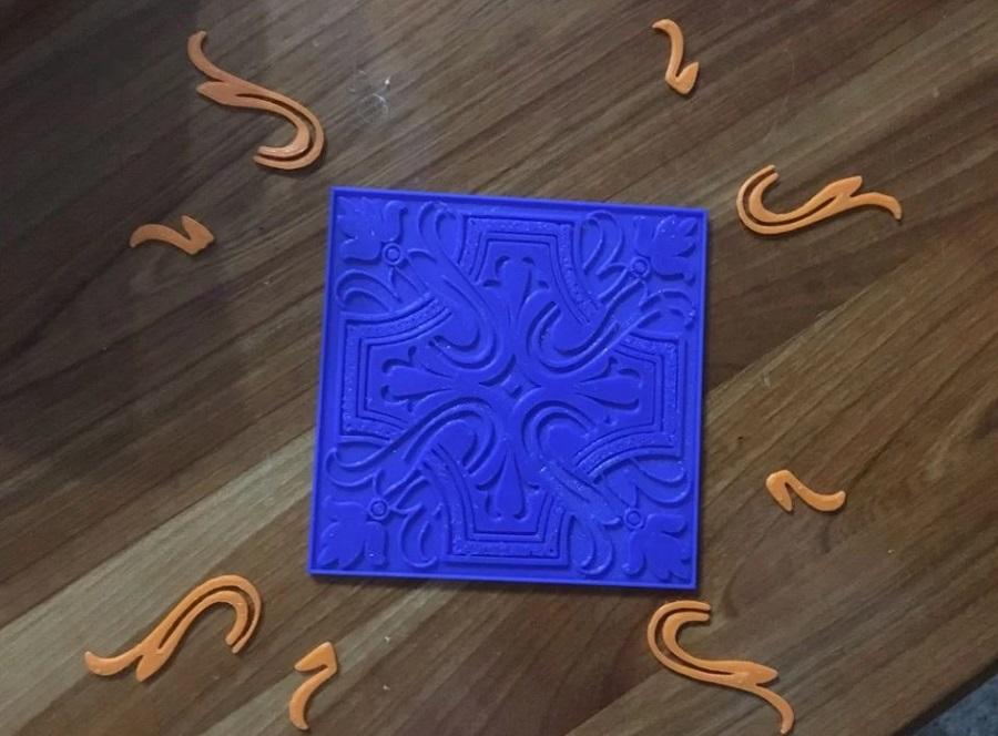 Фото аналог португальской плитки Azulej 2