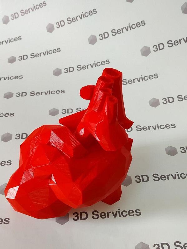 Фото Печать макета сердца