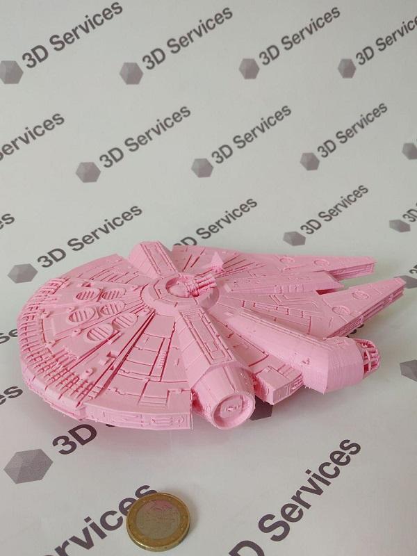 Фото Печать модели из звездных войн