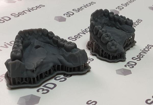 фото Печать мастер-моделей челюсти 1