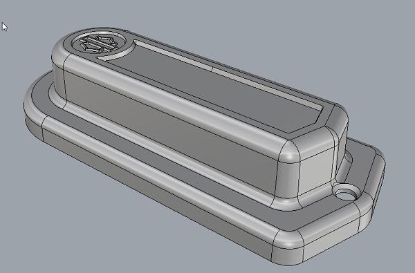 Фото 3D сканирование частей от Harley-Davidson. 1