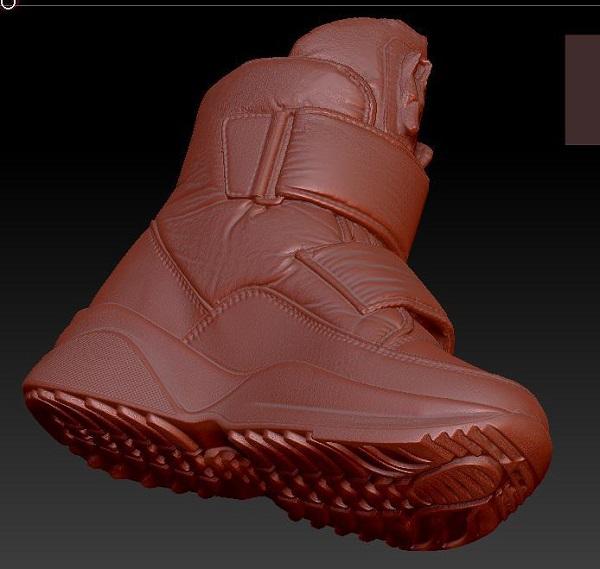 фото 3D сканирование ботинка