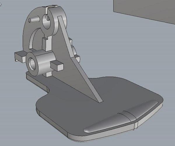 Фото 3D моделирование механизма