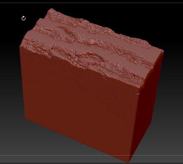Фото 3D сканирование деревянного элемента
