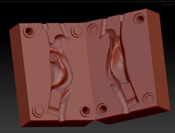 Фото 3D сканирование формы для литья