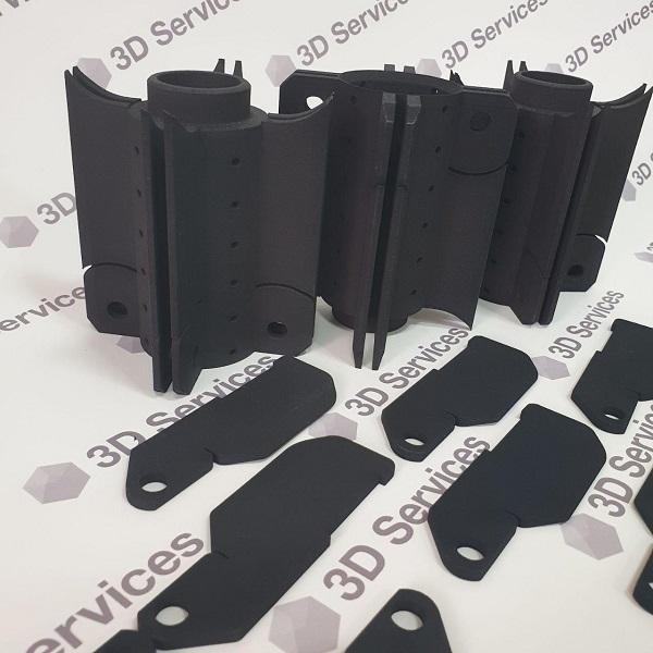 Фото 3D-печать из полиамида с окрашиванием 3