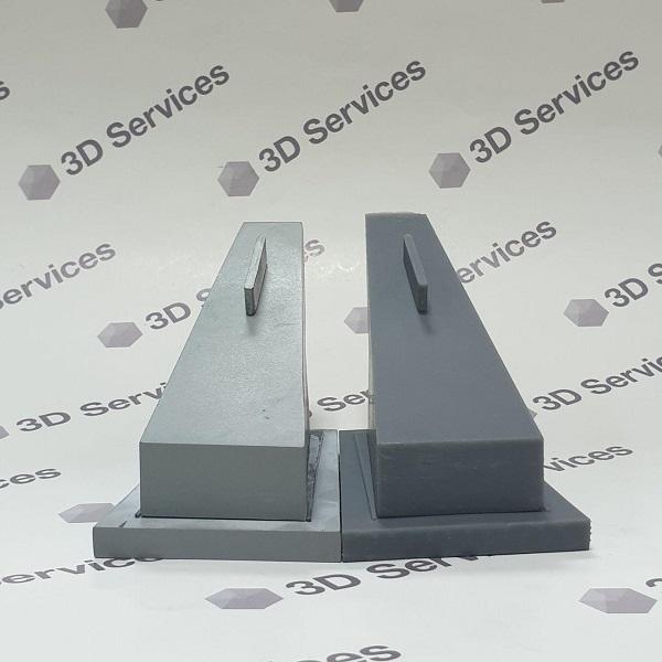 Фото 3D-печать изделий из усиленного АБС 3