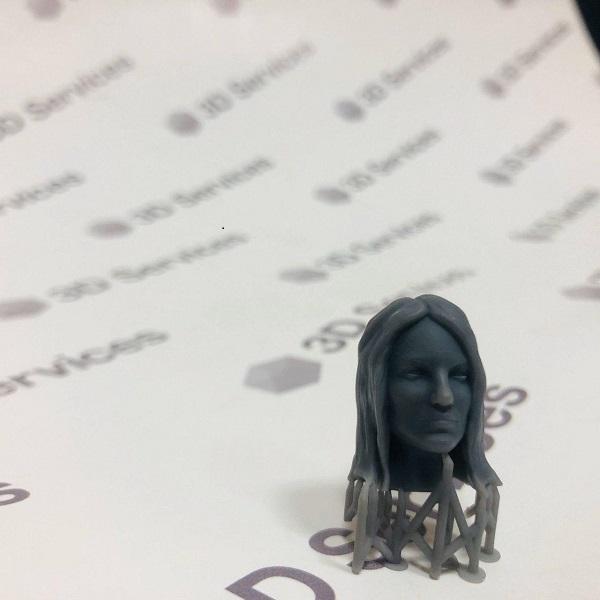 Фото 3D-печать полимером по технологии SLA 1